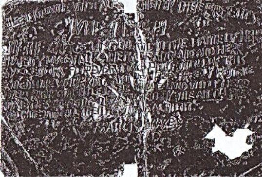 Sir Francis Drake Plate of Brass True Artifact Bolton Shinn