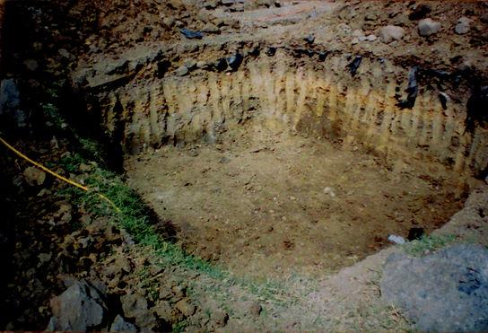 colored layers of treasure, hand_dug_pit