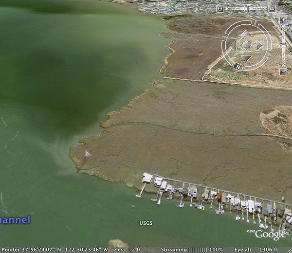 Sir Francis Drake Landing site Corte Madera