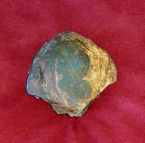 artifact treasure Drake Umina the Emerald Godess looted Hanff von der porten crime plate of brass