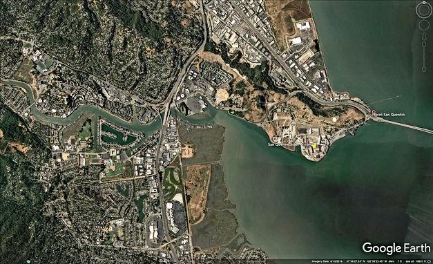 Google Earth Location Nova Albion