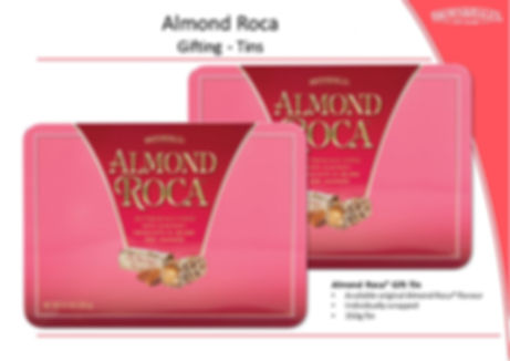 Almond Roca 350g Gift Tin