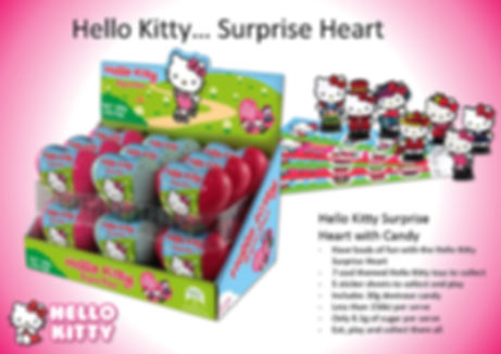 Hello Kitty Surprise Heart