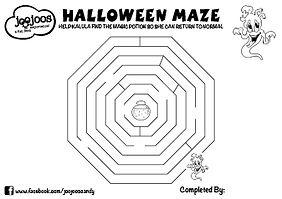 Kalula Halloween Maze