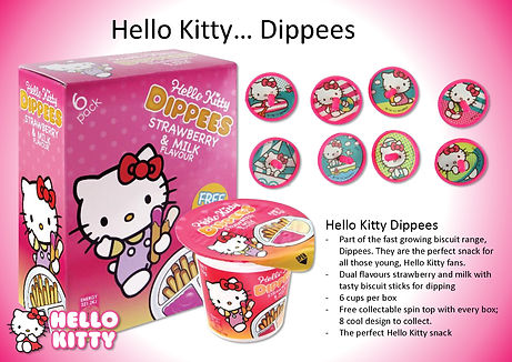 Hello Kitty Dippees