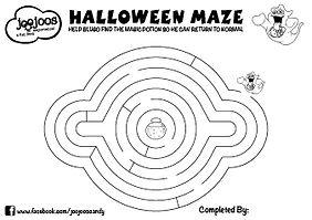 Blugo Berry Halloween Maze