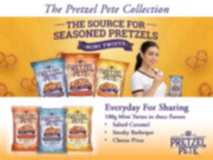 Pretzel Pete 100g Range