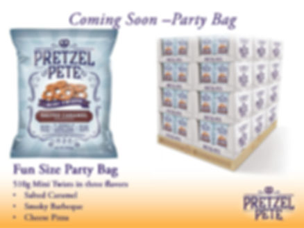 Pretzel Pete Fun Size 510g Party Bag