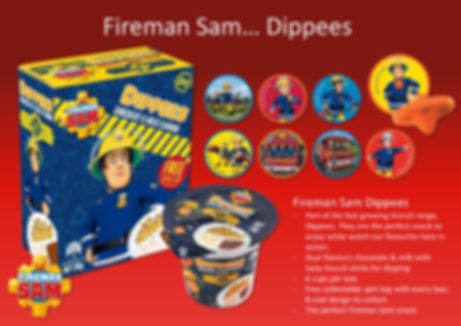 Fireman Sam Dippees