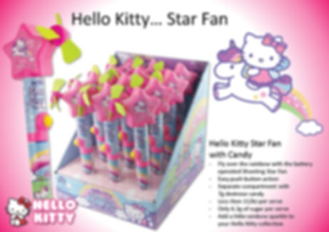 Hello Kitty Shooting Star Fan