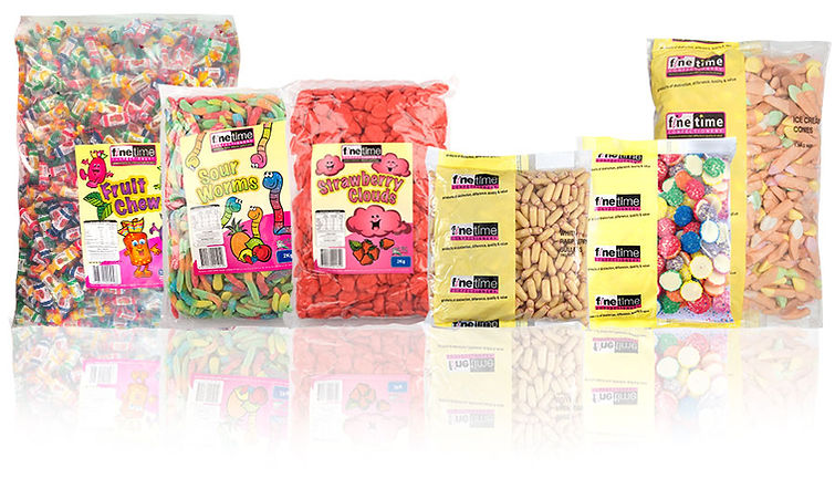 Finetime Bulk Lollies - Wholesale Confectionery Distribution