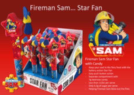 Fireman Sam Star Fan