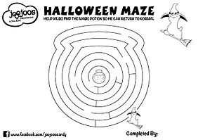 Wilbo Halloween Maze