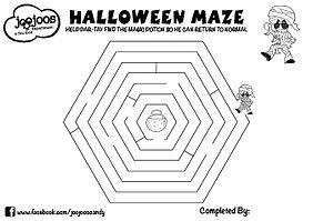 Par-Tay Halloween Maze