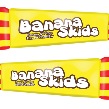 Swizzels Banana Skids Mini Me Bars