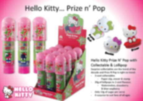 Hello Kitty Prize N Pop