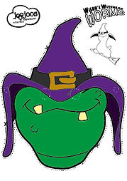 Wilbo Worm Halloween Mask
