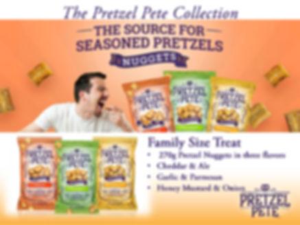 Pretzel Pete 270g Family Size Pretzel Nuggets