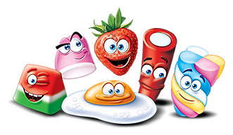 Fini European Confectionery Characters