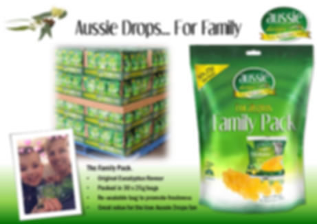 Aussie Drops 750g Family Pack