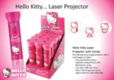 Hello Kitty Laser Projector
