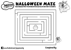 Grizzo Halloween Maze