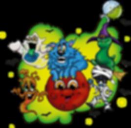 The Joojoos Halloween Gang
