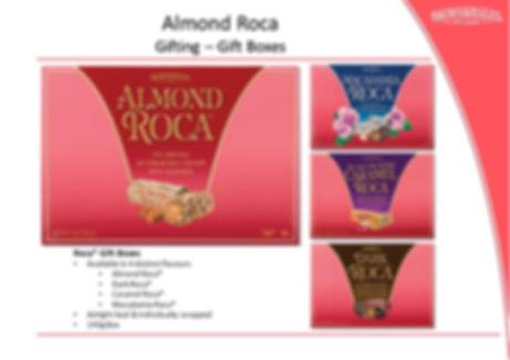 Almond Roca 140g Gift Box Range