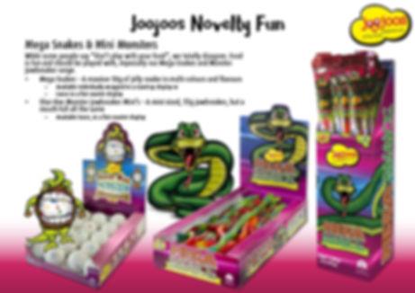 Joojoos Mega Snakes 7 Shar-Kee Jawbreaker