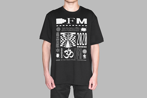 Camiseta DFM (branca/manga curta)