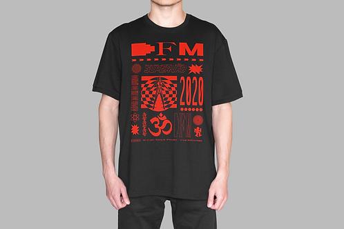 Camiseta DFM (vermelha/manga curta)