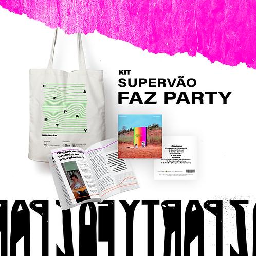 KIT Faz Party (CD + ecobag + zine)