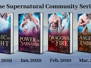 The Supernatural Community Series is up for pre-order!
