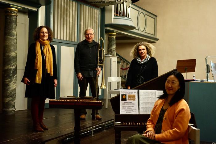 Ensemble Ein feste Burg ist unser Gott mit Dr. Peter Krüger, Stefanie Grund, Seonghyang Kim
