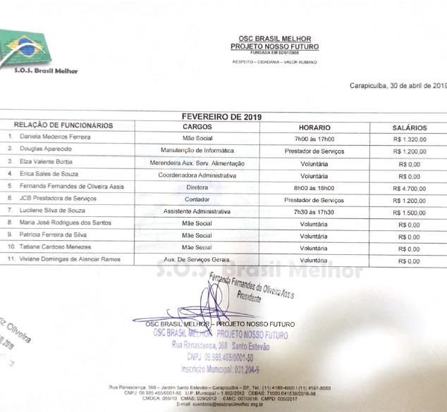 Funcionários Fevereiro 2019 - Educação.p