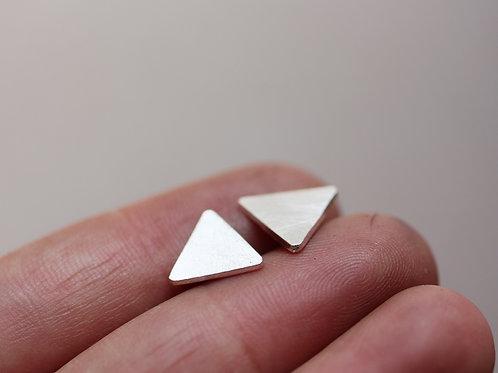 Orecchini triangoli in argento 925