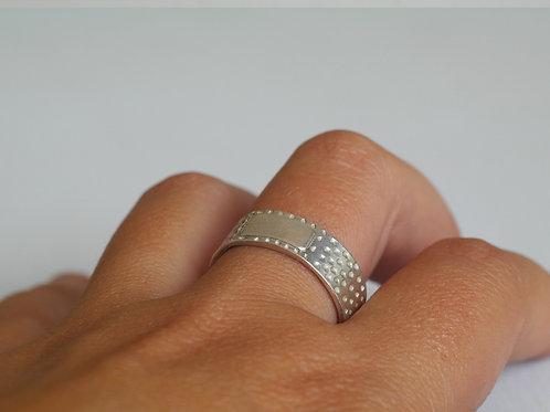Anello cerotto piccolo in argento 925