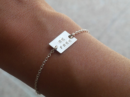 Bracciale BE FREE in argento 925