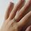 Thumbnail: Anello con charm con iniziale in argento 925