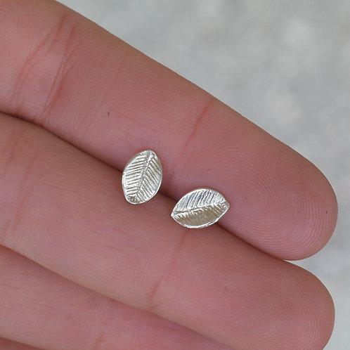 Orecchini a foglia in argento 925