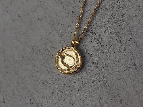 Collana segno zodiacale dei pesci in argento 925