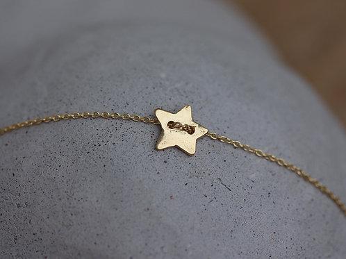 Bracciale con stella in argento 925