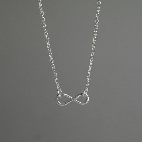 Collana infinito in argento 925