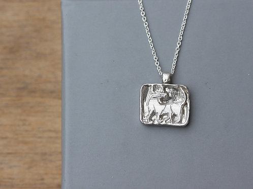 Collana segno zodiacale del toro in argento 925