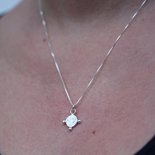 Collana con sole in argento 925