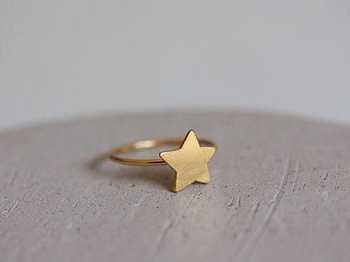 Anello stella in argento 925