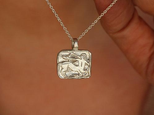 Collana segno zodiacale del sagittario in argento 925