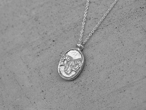 Collana segno zodiacale dell'ariete in argento 925
