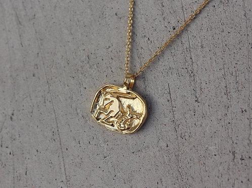 Collana segno zodiacale del capricorno in argento 925