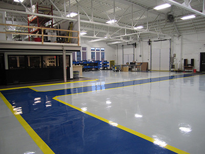 Benefits of Commercial Concrete Coating Installation